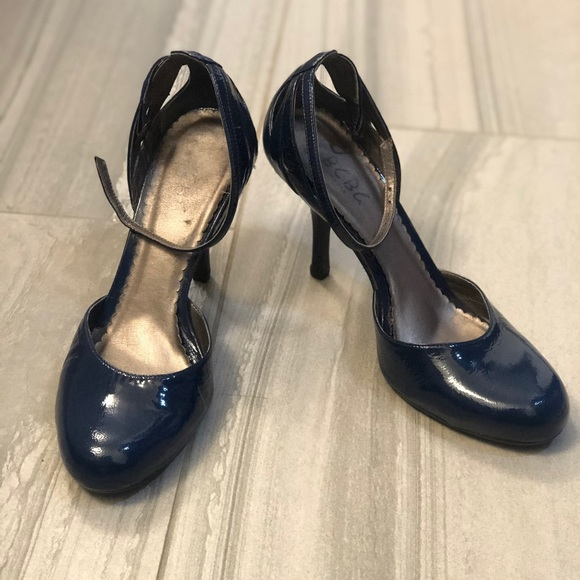 CBGB Navy Heels